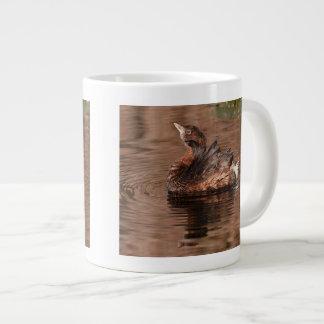 Cute Grebe Large Coffee Mug