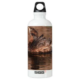 Cute Grebe Water Bottle