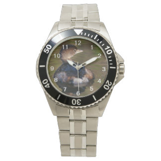 Cute Grebe Wrist Watch