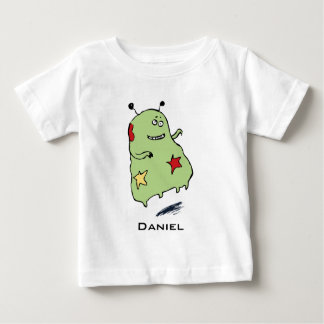 Cute Green Alien Baby Tee