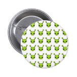 Cute Green Aliens Pinback Buttons
