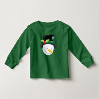 Cute Green and Yellow Brontosaurus Dinosaurs Toddler T-shirt