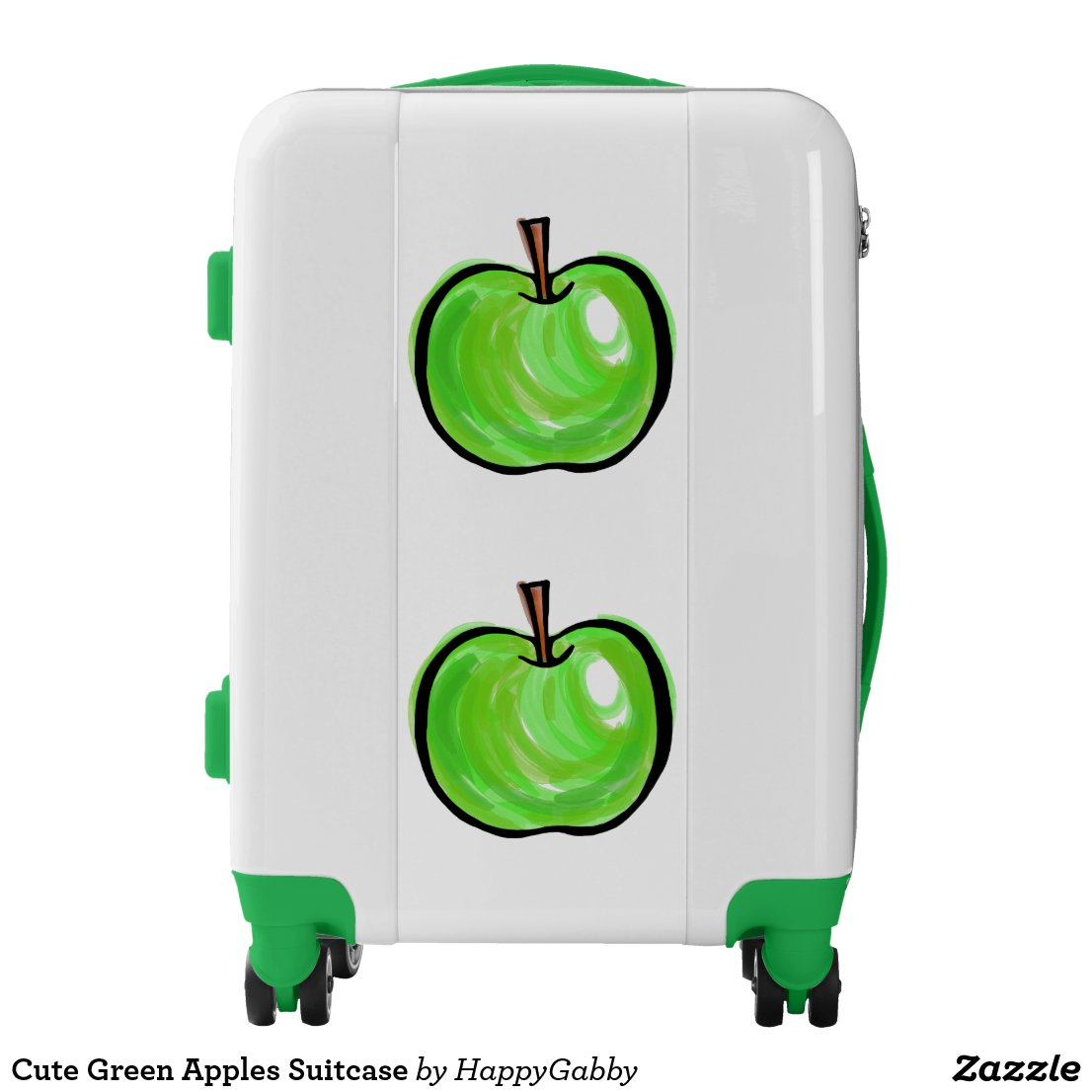 Green Apples Suitcase