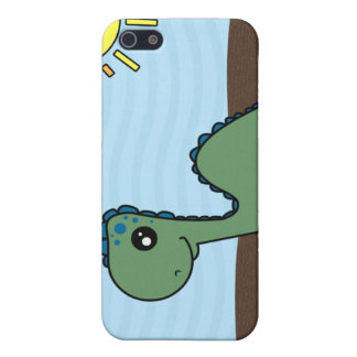 Cute Green Baby Dinosaur iPhone SE/5/5s Cover