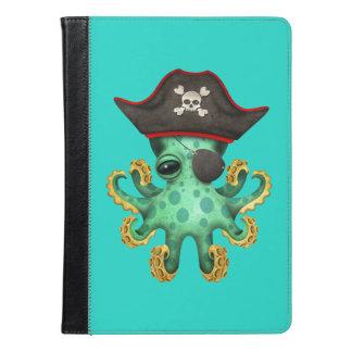 Cute Green Baby Octopus Pirate iPad Air Case