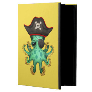 Cute Green Baby Octopus Pirate Powis iPad Air 2 Case