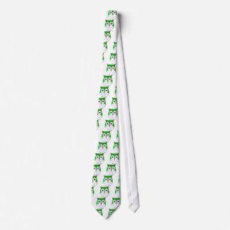 Cute Green Baby Owl Tie