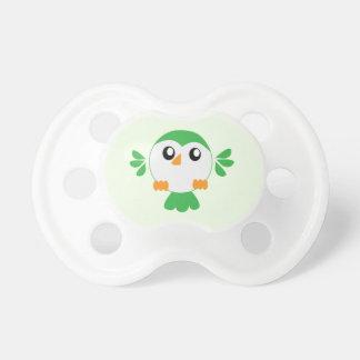 Cute Green Bird BooginHead Pacifier
