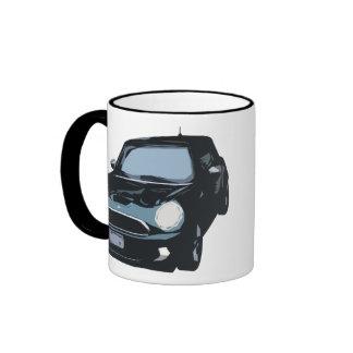 Cute Green Car Coffee Mug