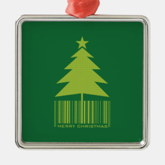 Cute Green Christmas Tree Ornament