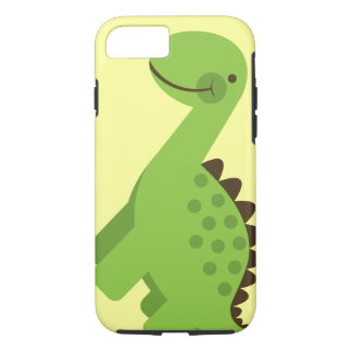 Cute Green Dinosaur iPhone 8/7 Case