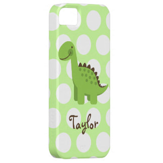 Cute Green Dinosaur iPhone SE/5/5s Case