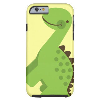 Cute Green Dinosaur Tough iPhone 6 Case
