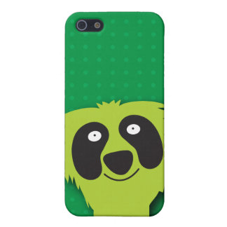 Cute green fluffy Monster i Cover For iPhone SE/5/5s