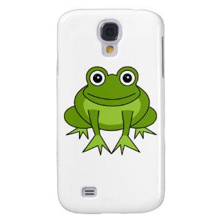 Cute Green Frog Cartoon Samsung S4 Case