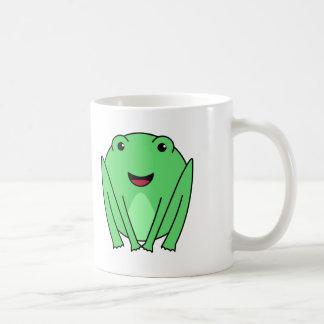 Cute Green Frog Coffee Mug