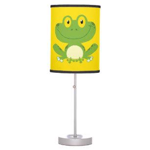 Cute Green Frog Table Lamp