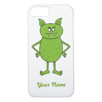 Cute green goblin cartoon iPhone 7 case