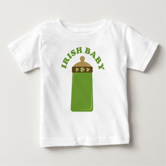 Cute Green Irish Baby Infant Tee Shirt