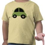 Cute Green Kids Car Tees