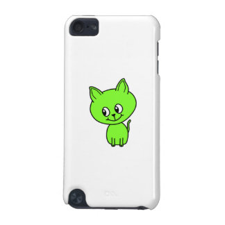 Cute Green Kitten. iPod Touch 5G Cover