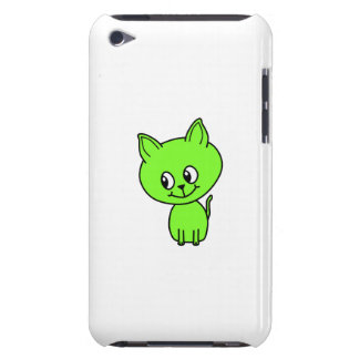 Cute Green Kitten. Barely There iPod Case