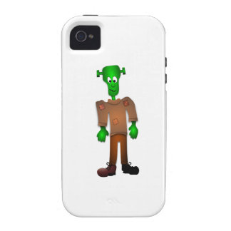 Cute Green Monster Cartoon Case For The iPhone 4