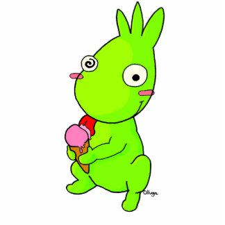Cute Green monster Cutout