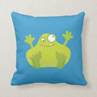 Green Monster Pillows - Decorative & Throw Pillows Zazzle