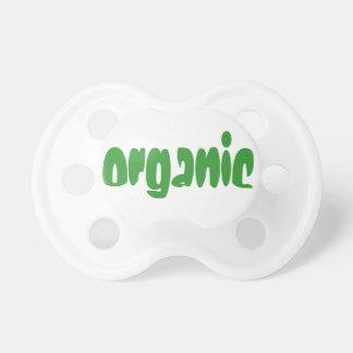 Cute Green Organic Pacifier