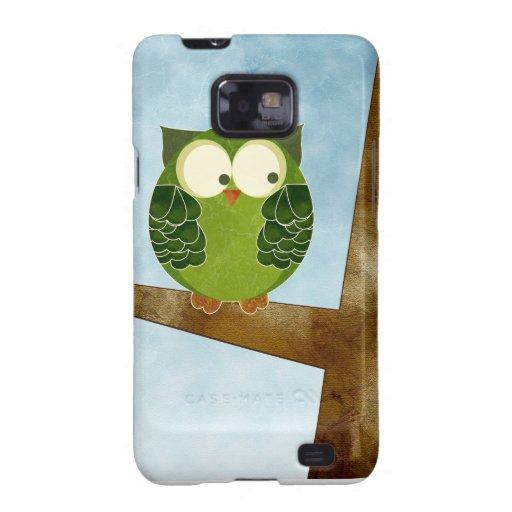 Cute Green Owl Case-Mate Case
