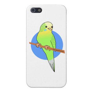 Cute Green Parakeet iPhone 5 Cover