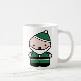 Cute Green Santa Mug- My Very First Christmas