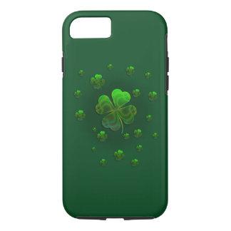 Cute Green Shamrocks | Celebrate iPhone 8/7 Case