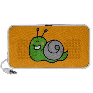 Cute green snail mini speaker