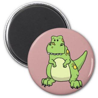Cute Green T-Rex Fridge Magnets