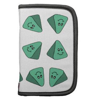 Cute Green Triangle Tile Organizers