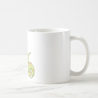 Cute Green Viper Snake Cartoon Shirt Classic White Coffee Mug