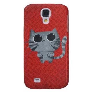 Cute Grey Cat with big black eyes HTC Vivid Case