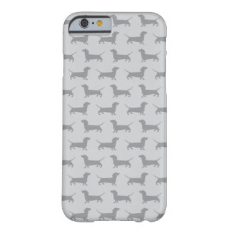 Cute Grey dachshund Dog Pattern iPhone 6 case
