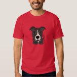 Cute Grey Pitbull Puppy Dog T-shirts