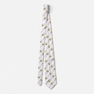 Cute Grey Rabbit Neck Tie