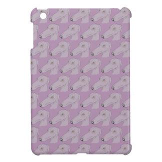 Cute greyhound pattern iPad mini cover