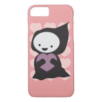 Cute Grim Reaper with Heart iPhone 7 Case