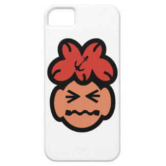 Cute Grimacing Face Iphone 5 Cover