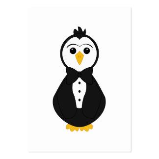Cute Groom Penguin Business Cards
