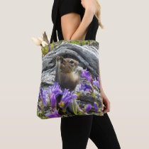 Cute Ground Squirrel Photo Tote Bag