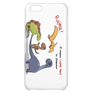 Cute Group of Dinos Rawr Means We love you :) :) iPhone 5C Cases
