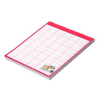 Cute Grumpy Dog Memo Note Pads