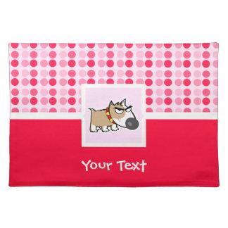 Cute Grumpy Dog Placemat